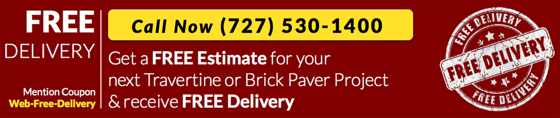 brick paver installation free delivery by paver house
