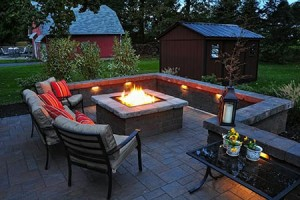 Fire-pit for your Small Patio Backyard