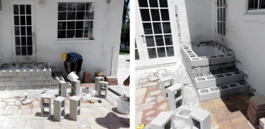 install brick pavers