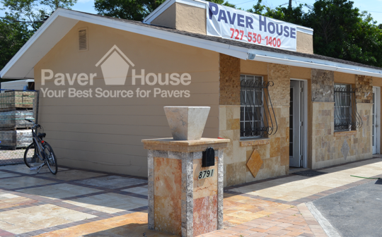 Visit our Paver Showroom