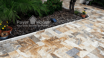 Tampa paver patio installation